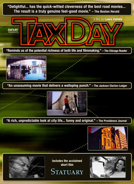TAX DAY - DVD cover